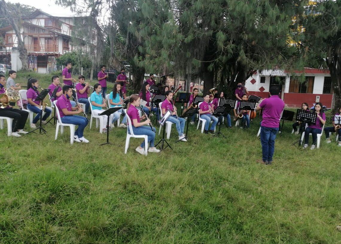 Banda prácticas